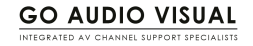Go Audio Visual Logo